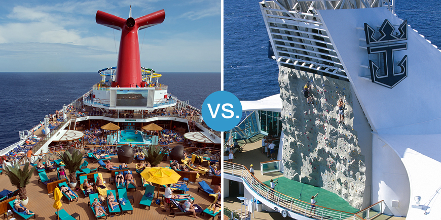 Smackdown! Carnival vs. Royal Caribbean