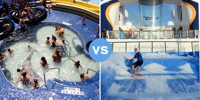 disney cruise line royal caribbean smackdown