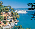 Silver Cloud sailing from Portofino, Italy