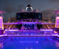 Celebrity Silhouette lido deck cruise ship