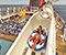 Disney Dream's Aqua Duck water slide