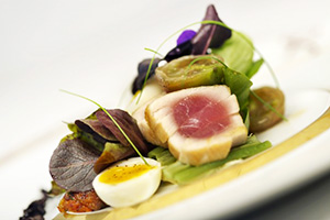 seared tuna nicoise remy disney dream