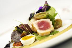 seared tuna nicoise remy disney dream