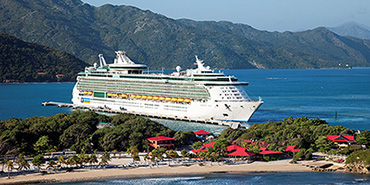Freedom of the Seas at Labadee
