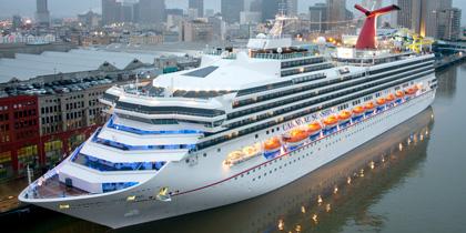Carnival Sunshine cruise ship new orleans