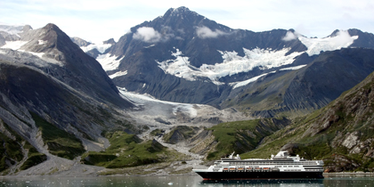 holland america ms veendam glacier bay