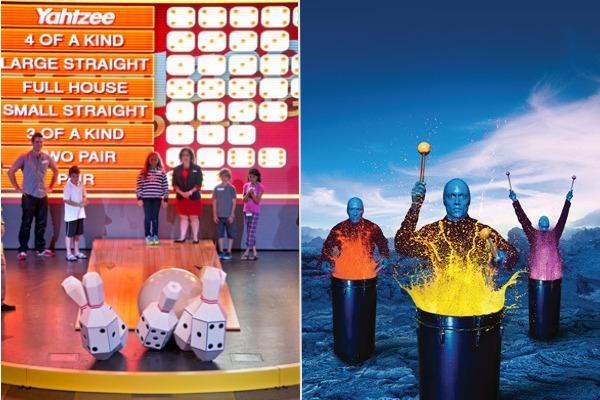 carnival vs. norwegian cruise line entertainment shows