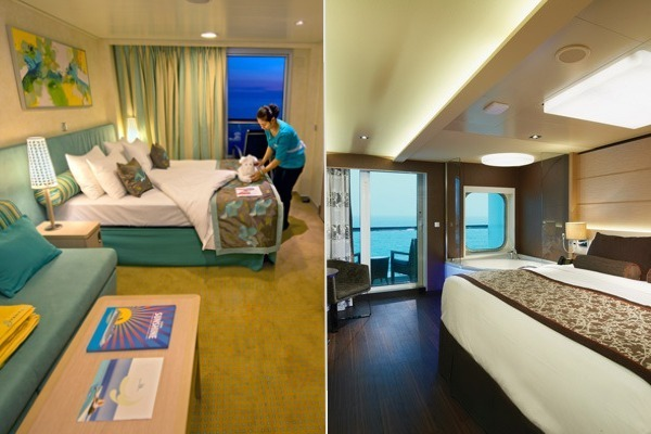 carnival vs. norwegian cruise line specialty cabins