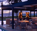 Morimoto in Maui at sunset