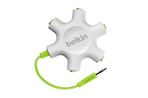 Belkin Rockstar 5-way headphone splitter