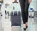 carry-on luggage suitcases rollerboards innovative designs