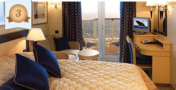 best cruise ship balcony cabin cunard