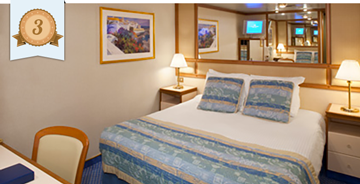best cruise ship inside cabins princess