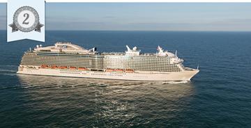 most improved cruise ship royal princess