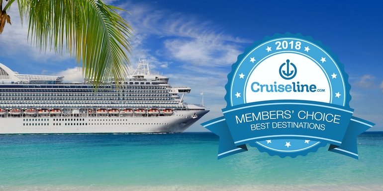 2018 best destinations cruise ports