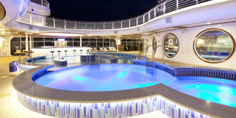 disney dream quiet cove pool adults tips