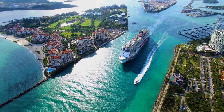 cruise departure port miami florida us
