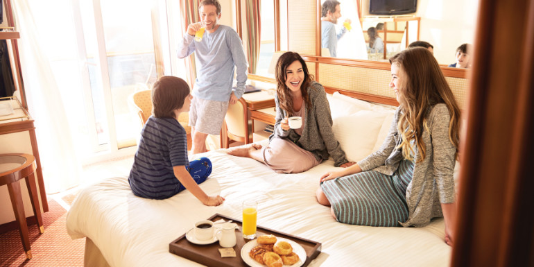 princess cruises room service breakfast cruise