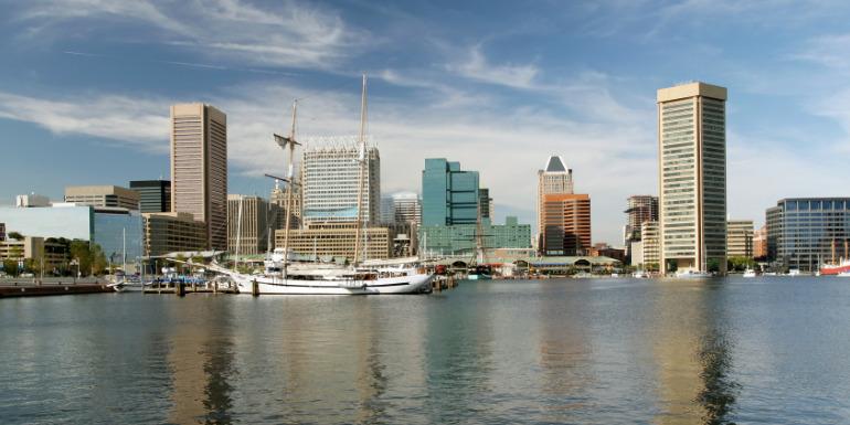 baltimore cruise to nowhere port