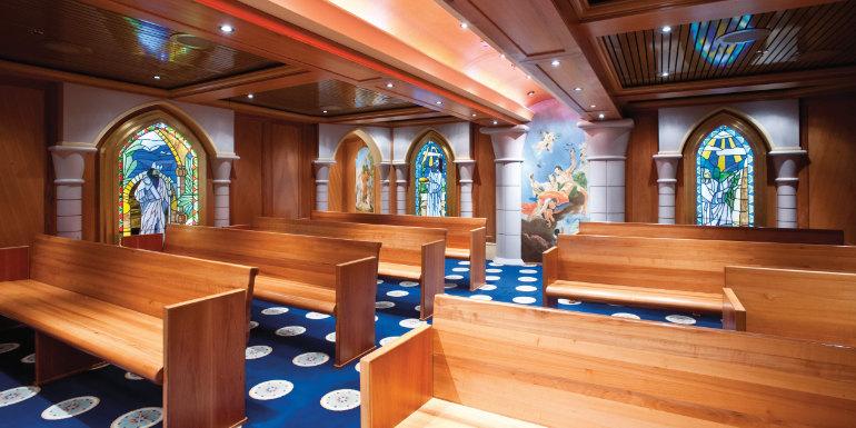 carnival cruise ship chapel holiday church