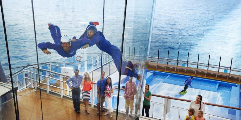 royal caribbean ripcord skydiving quantum cruise