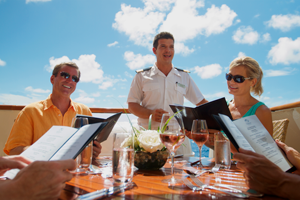 topside burger seadream cruise ship