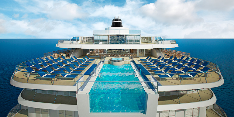 viking star infinity pool dream ship