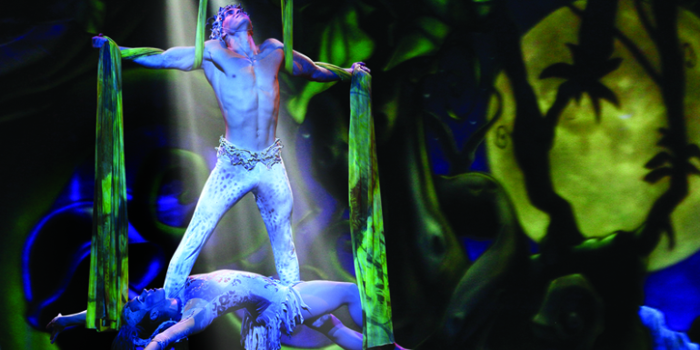 norwegian cruise entertainment show cirque jungle