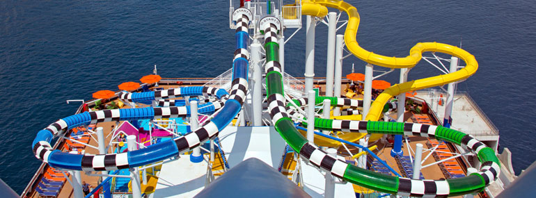 What is the name of these dueling water slides?