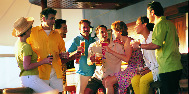included in cruise fare inclusive
