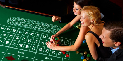 cruise ship casinos gambling roulette table