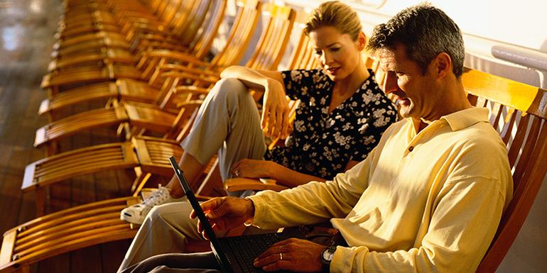 internet wifi cruise ship service cost