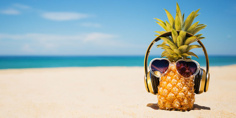 cruise playlists music beach tropical