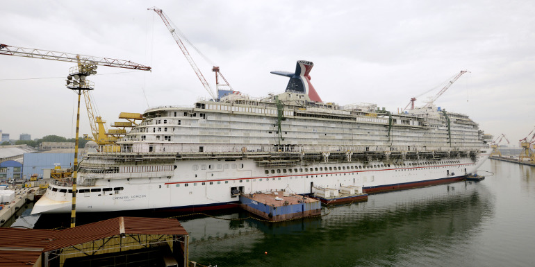 5 Things You Didn't Know About Cruise Ship Construction