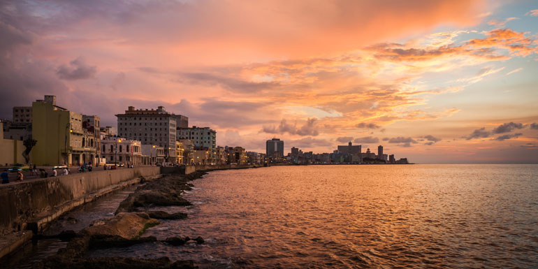 can i cruise to cuba sunset