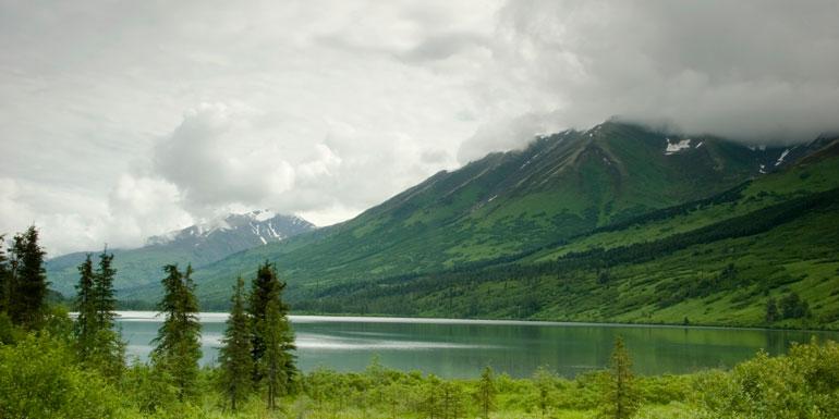 alaska cloudy