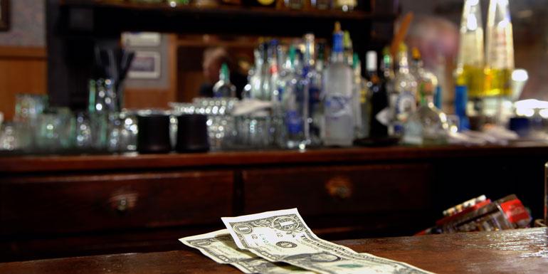 cash bar cruise ship