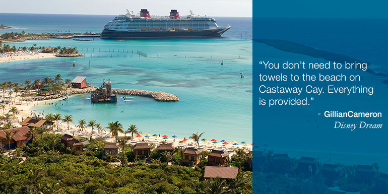 disney cruise hacks castaway cay