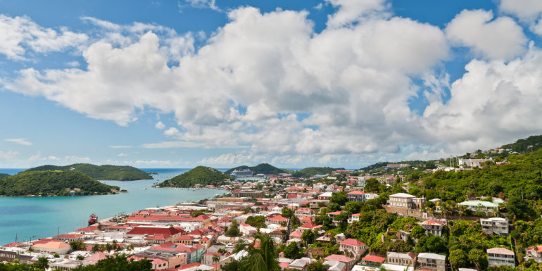 dream caribbean island st. thomas tropical