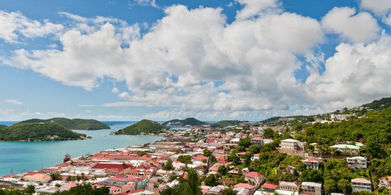 dream caribbean island st. thomas tropical