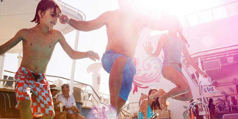 family cruise kids teens best caribbean