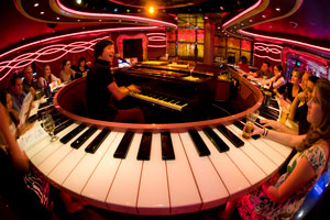 carnival piano bar entertainment