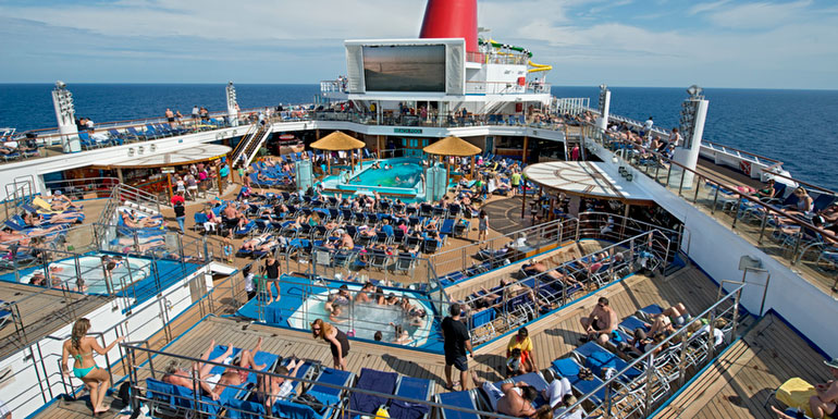 first day of a cruise