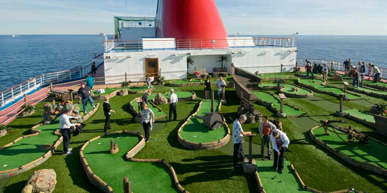 mini golf cruise