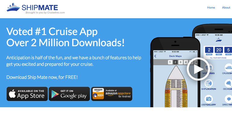 cruiseline.com ship mate app