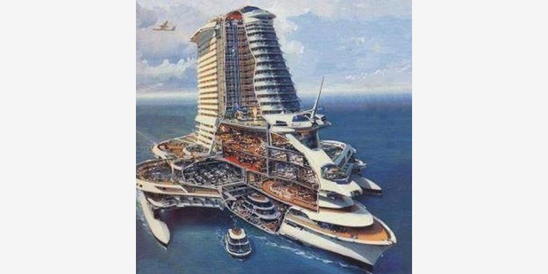 Cruise Ships Of The Future - How can cruise ships float