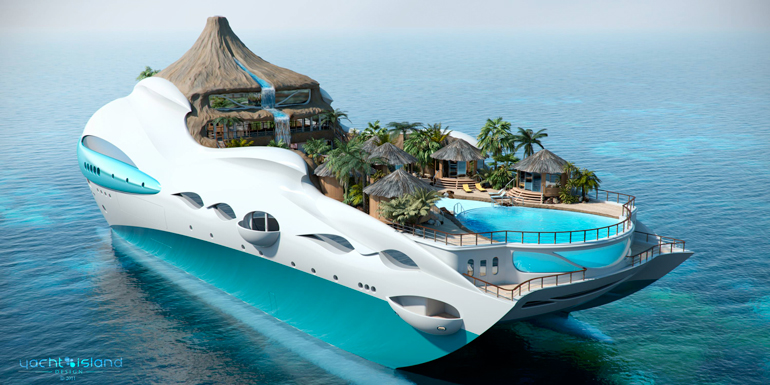 Cruise Ships Of The Future - How do cruise ships float