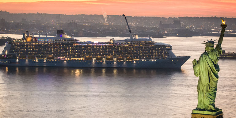 quantum seas largest cruise ship nyc