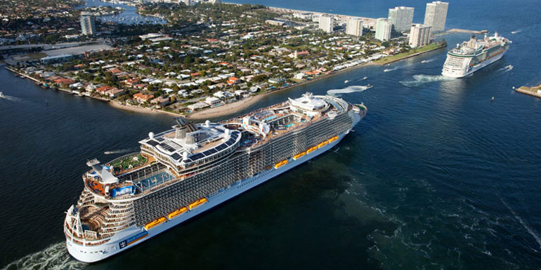 The 10 Largest Cruise Ships in the World