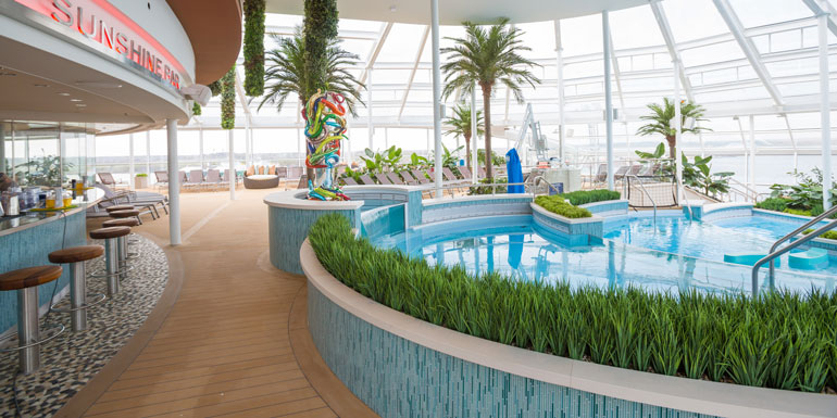 lazy adult only solarium cruise